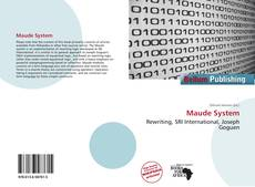 Bookcover of Maude System