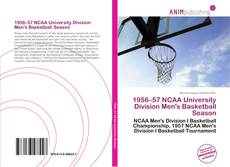 Обложка 1956–57 NCAA University Division Men's Basketball Season