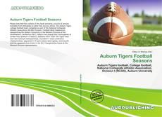 Portada del libro de Auburn Tigers Football Seasons