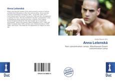 Portada del libro de Anna Letenská