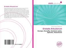 Portada del libro de Eristalis Arbustorum