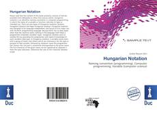 Couverture de Hungarian Notation