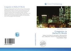 Buchcover von Companies in Dallas/Ft.Worth