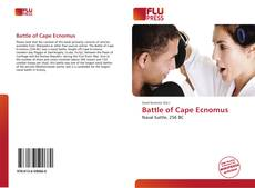 Portada del libro de Battle of Cape Ecnomus