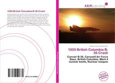 Buchcover von 1950 British Columbia B-36 Crash