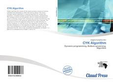 Bookcover of CYK Algorithm