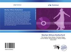 Bookcover of Marilyn Wilson-Rutherford