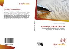 Portada del libro de Country Club Republican