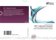 Bookcover of 2011 Lebanese Protests