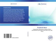 Обложка Friedrich Born