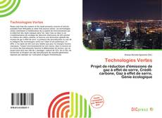 Bookcover of Technologies Vertes