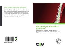 Обложка John Hodges (Australian politician)
