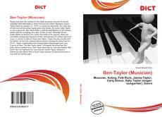 Portada del libro de Ben Taylor (Musician)