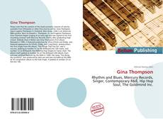 Bookcover of Gina Thompson