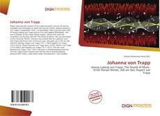 Portada del libro de Johanna von Trapp
