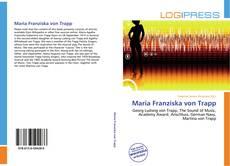 Portada del libro de Maria Franziska von Trapp