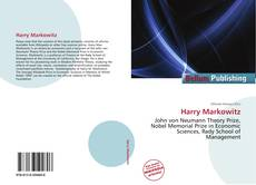 Bookcover of Harry Markowitz