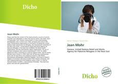 Capa do livro de Jean Mohr