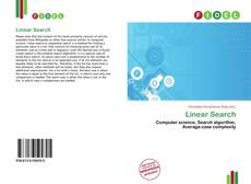 Bookcover of Linear Search