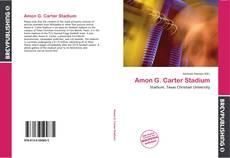 Amon G. Carter Stadium的封面