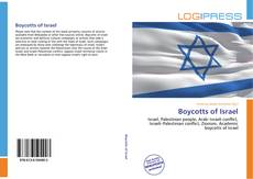 Обложка Boycotts of Israel