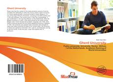 Bookcover of Ghent University