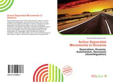 Portada del libro de Active Separatist Movements in Oceania