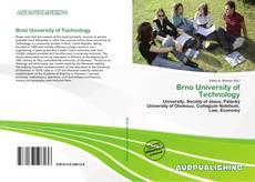 Portada del libro de Brno University of Technology