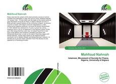 Bookcover of Mahfoud Nahnah
