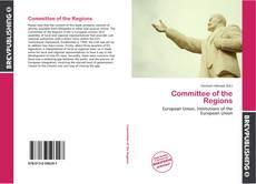 Capa do livro de Committee of the Regions