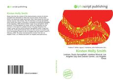 Bookcover of Kirsten Holly Smith