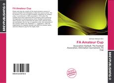 Bookcover of FA Amateur Cup