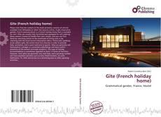 Gîte (French holiday home) kitap kapağı