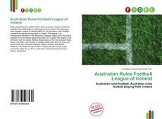 Обложка Australian Rules Football League of Ireland