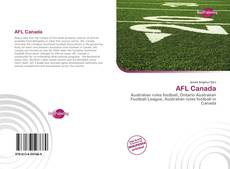 Bookcover of AFL Canada