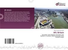 AFL Britain kitap kapağı