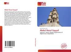 Bookcover of Abdul Rasul Sayyaf
