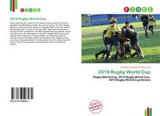 Bookcover of 2019 Rugby World Cup