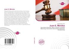 Обложка Juan E. Méndez