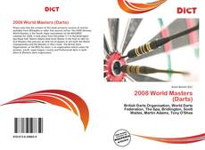 Bookcover of 2008 World Masters (Darts)