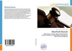 Manfred Nowak kitap kapağı