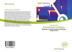 Capa do livro de Archimantis Latistyla