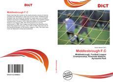 Buchcover von Middlesbrough F.C