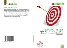 Capa do livro de 2008 PDC Pro Tour