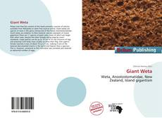Portada del libro de Giant Weta