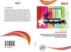 June Martel的封面