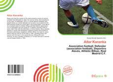 Buchcover von Aitor Karanka