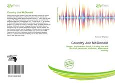 Bookcover of Country Joe McDonald