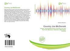 Copertina di Country Joe McDonald
