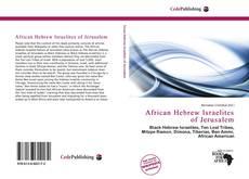 Buchcover von African Hebrew Israelites of Jerusalem